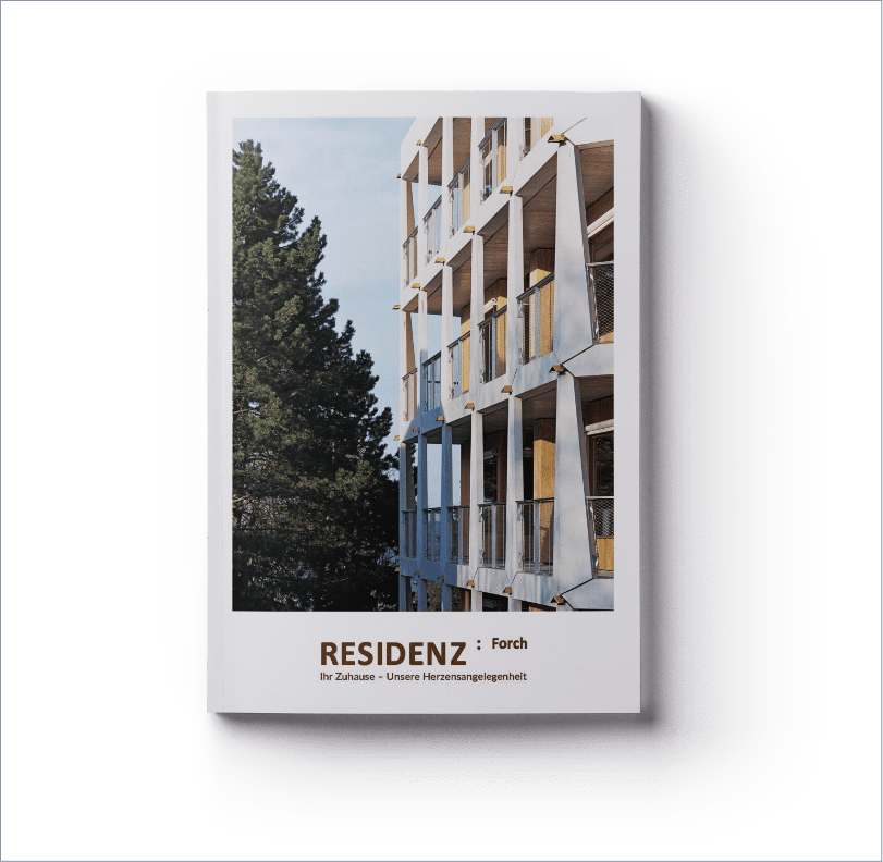 Residenz Forch, ICON Worldwide, print and web project, portfolio